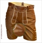Preview: Damen Kuhfell Lederhose