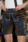 Mobile Preview: Kurze Damen Puntigamer Lederhose