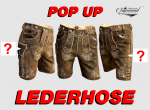 "POP UP Lederhose kurz ""Sigismund"""